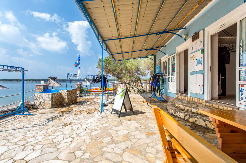 Outdoor Area | DIVE CENTER KRK | Croatia